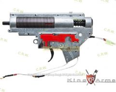 King Arms M120 Ver. II Rear Wiring Complete Gearbox for M4 AEG